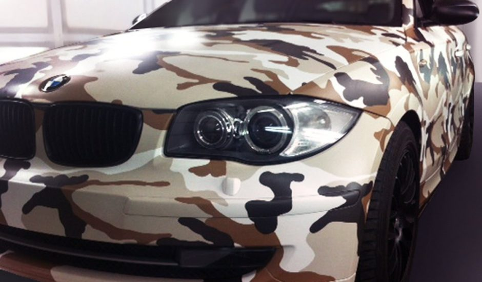car wrapping camouflage