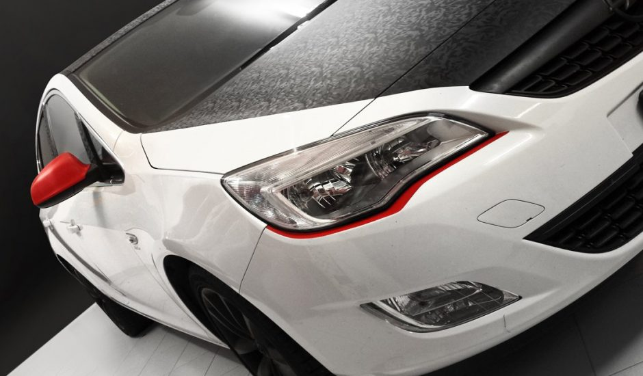 Car wrapping graphicar